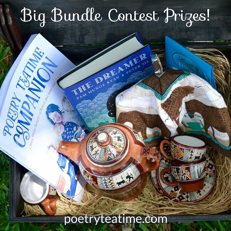 Poetry Teatime Big Bundle Contest Prizes