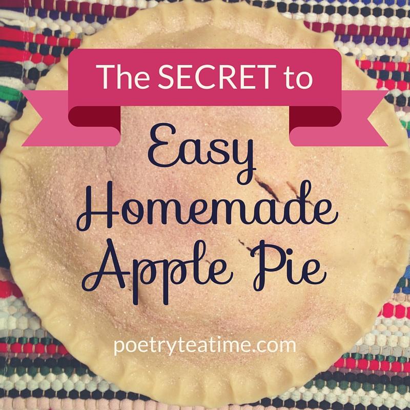 The Secret to Easy Homemade Apple Pie