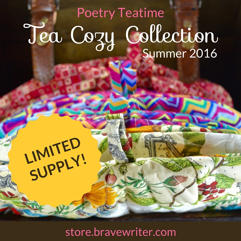 Poetry Teatime Tea Cozies Summer 2016 Collection