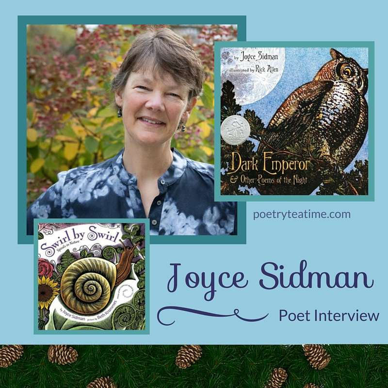 Poet Interview: Joyce Sidman