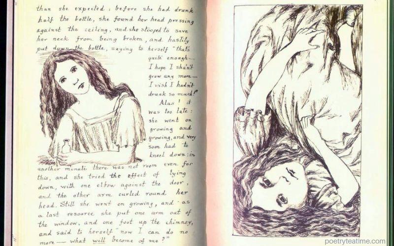 Alice in Wonderland Illustration 1
