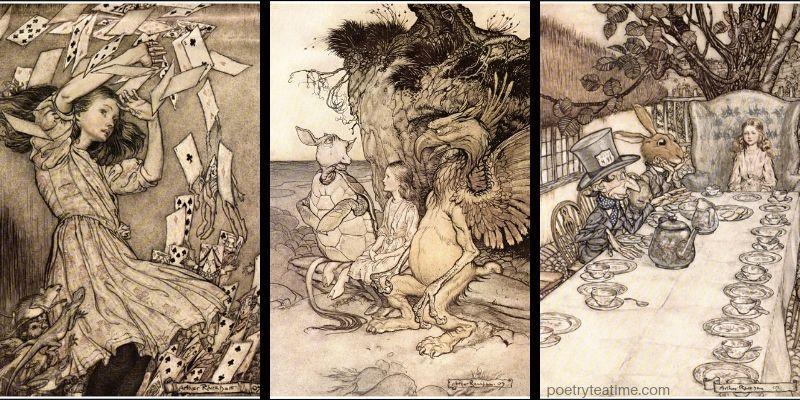 Alice in Wonderland, by Arthur Rackham