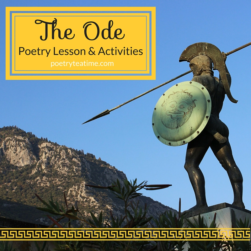 Poetry Teatime: The Ode