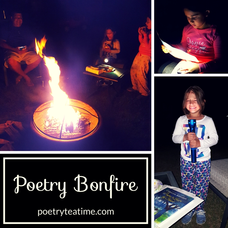 Fall Poetry Bonfire - Poetry Teatime