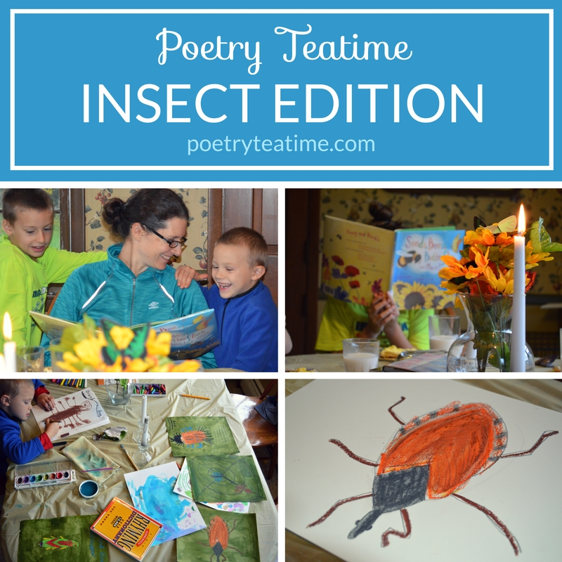 Insect Poetry Teatime
