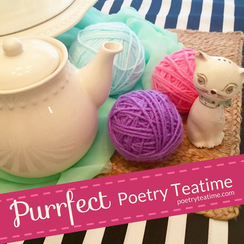 Purrfect Poetry Teatime