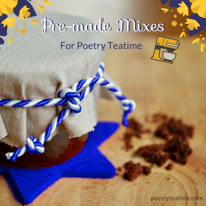 Poetry Teatime Pre-Made Mixes