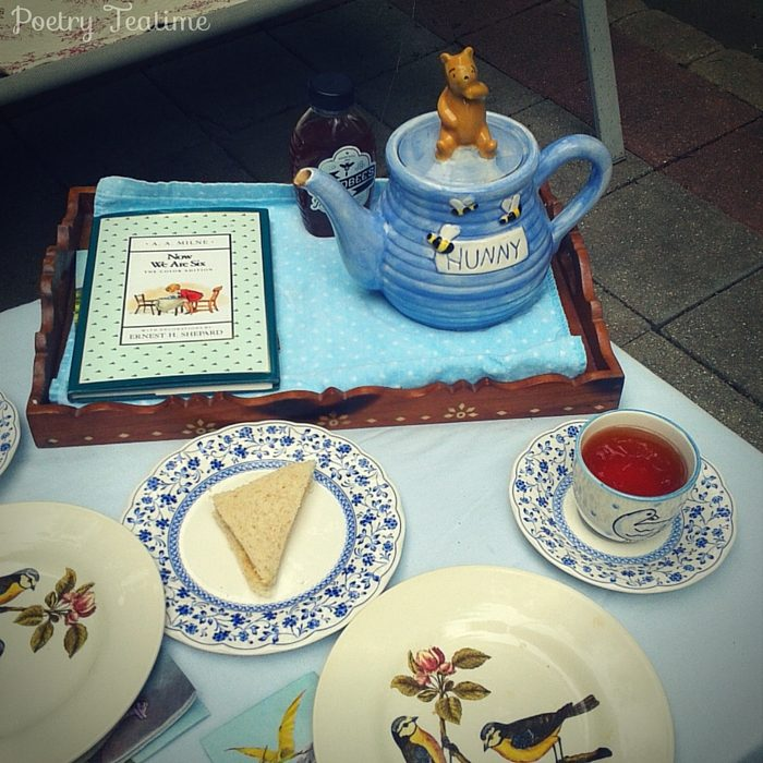 A. A. Milne Inspired Poetry Teatime