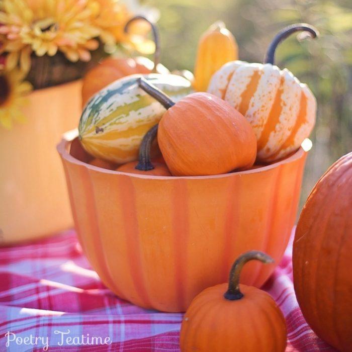 October Themed Teatime
