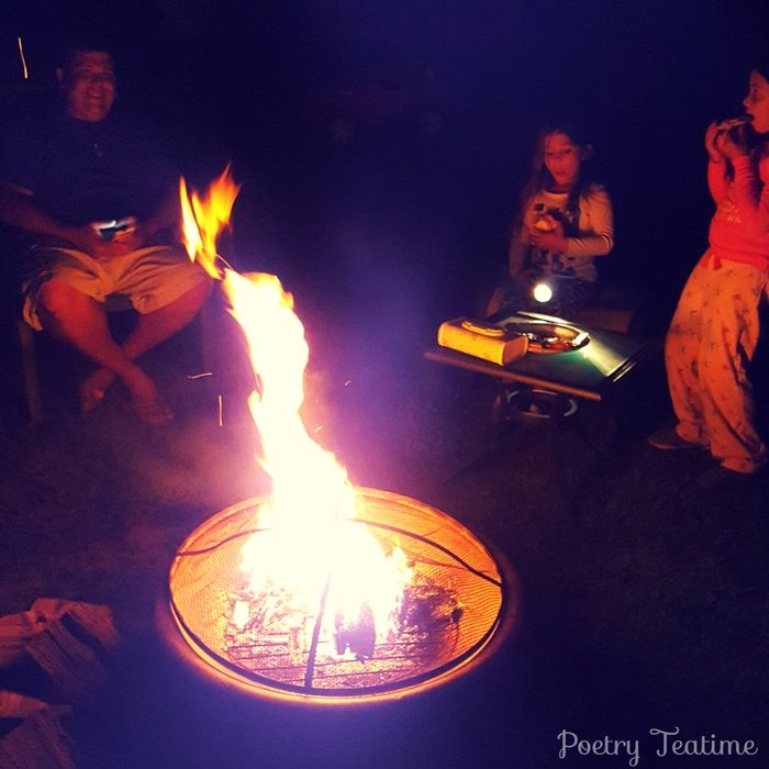 Fall Poetry Bonfire