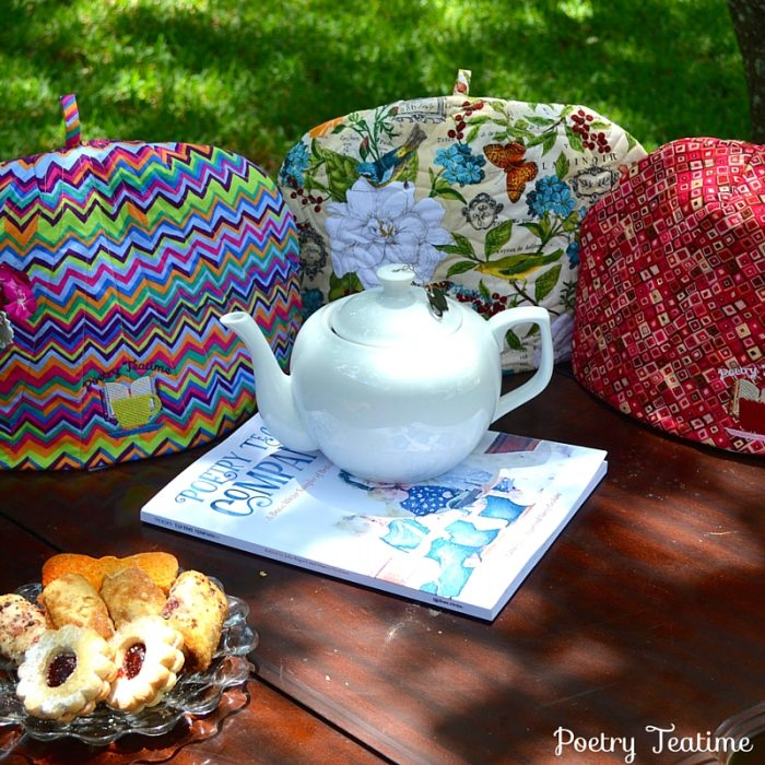 NEW: Poetry Teatime Tea Cozies!