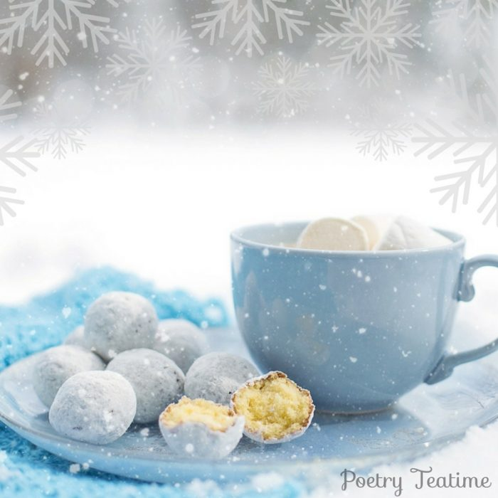 Snow Themed Teatime