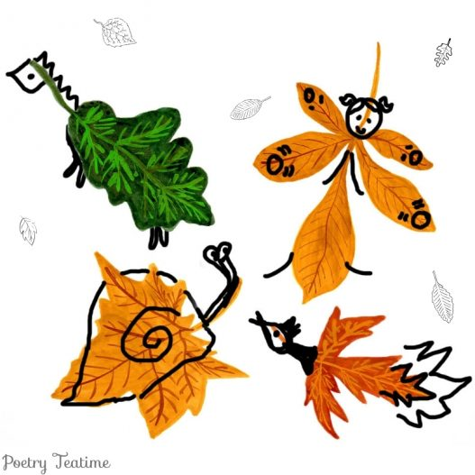 Poetry Prompt: Leaf Creatures