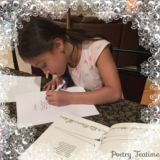 A Family's First Poetry Teatime