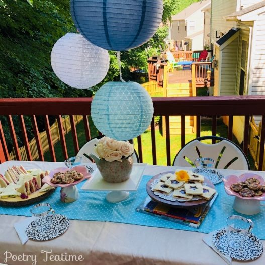 Teatime Story: Easy Poetry Party
