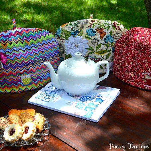 NEW: Poetry Teatime Tea Cozies!