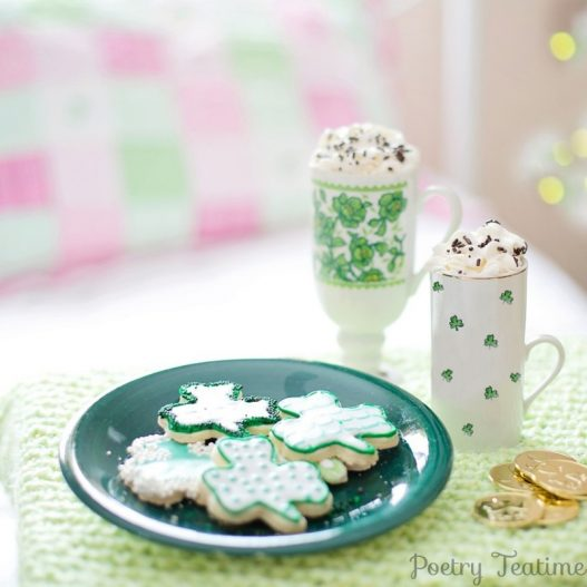 St. Patrick's Day Themed Teatime