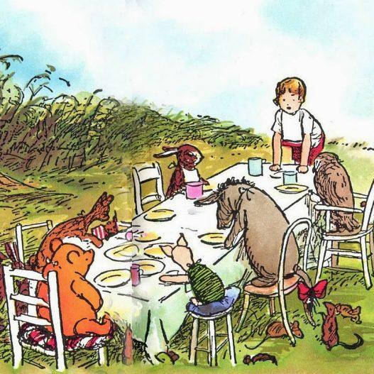 Themed Teatime: Winnie-the-Pooh