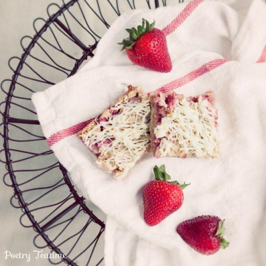 Summertime Strawberry Bars